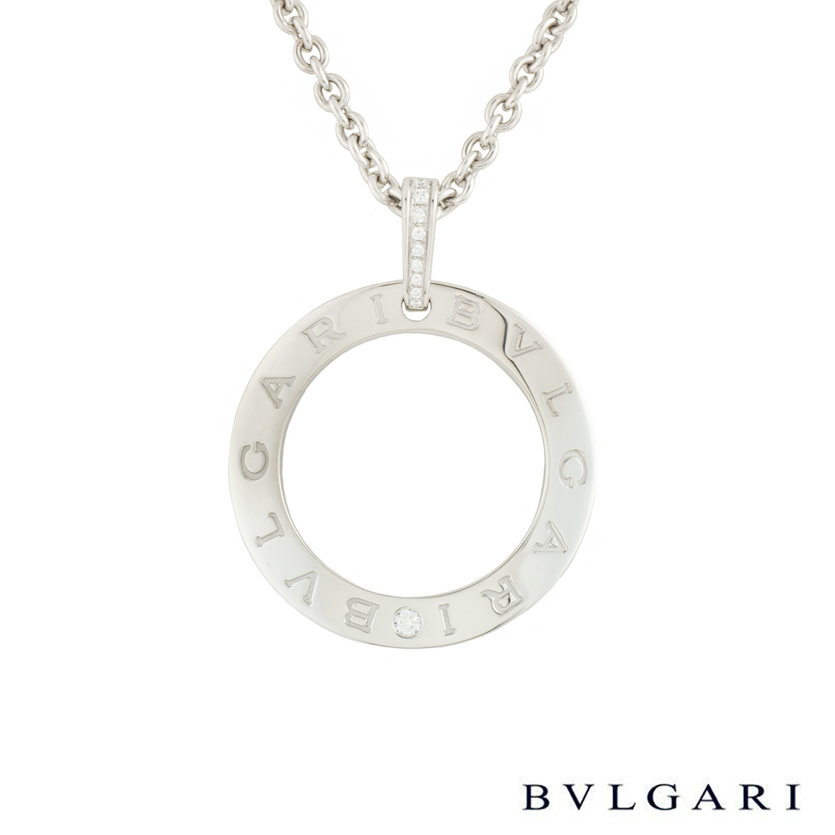 Bvlgari Bvlgari White Gold Diamond Necklace